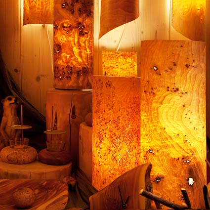 designerlampen atelier f r naturholzgestaltung auf creativ100. Black Bedroom Furniture Sets. Home Design Ideas