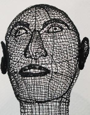 Drahtskulpturen Fenselau Creativ100de