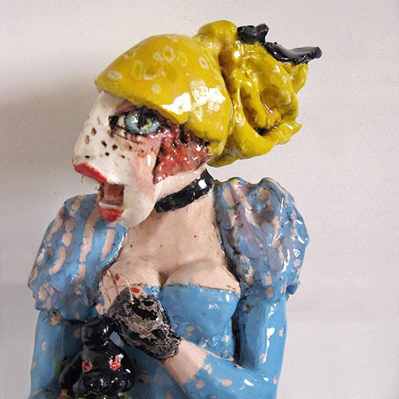 Christine stangl keramik skulpturen auf for Gartenskulpturen aus ton