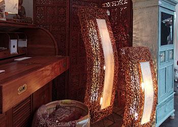 kolonialm bel und lampen creativ100. Black Bedroom Furniture Sets. Home Design Ideas