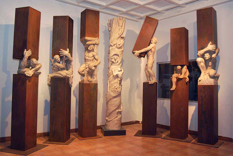 Edgar Zuniga - Skulpturen auf Creativ100.de!