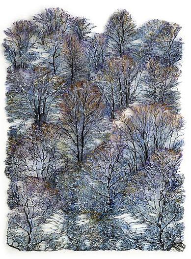 Lesley Richmond - textile Kunstwerke auf Creativ100.de